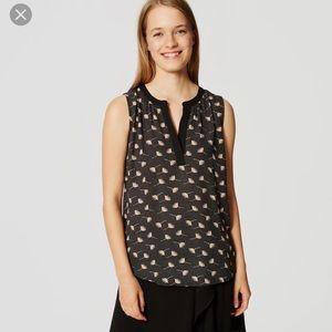 LOFT Floral Fresco blouse